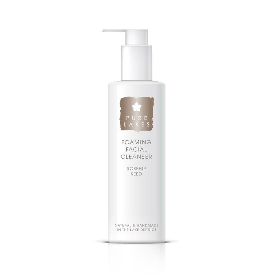 Pure Lakes Foaming Facial Cleanser Rosehip Seed