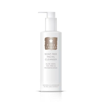 Pure Lakes Aloe Vera, Tea Tree & Frankincense Soap Free Facial Cleanser