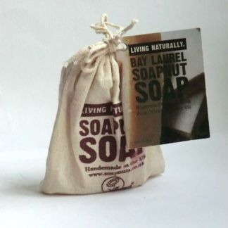 Living Naturally Bay Laurel Soapnut Soap