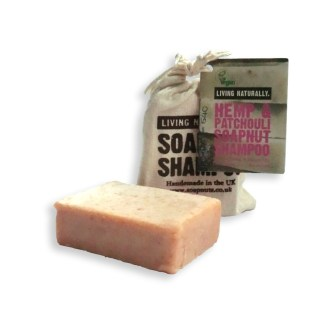 Living Naturally Hemp & Patchouli Shampoo Bar