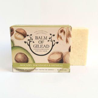 Balm of Gilead Avocado & Macadamia Soap