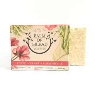 Balm of Gilead Fennel Geranium & Almond Milk Soap