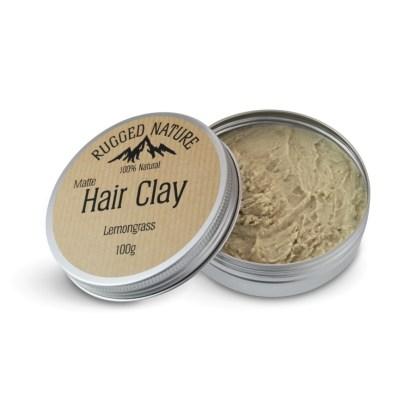 Rugged Nature Lemongrass Hair Clay