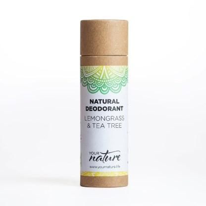 Your Nature Lemongrass Tea Tree Natural Deodorant
