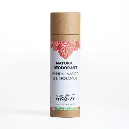 Your Nature Sandalwood Bergamot Deodorant