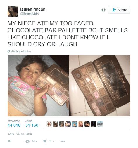 fard paupiers chocolat