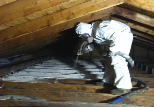spray foam insulation mckinney