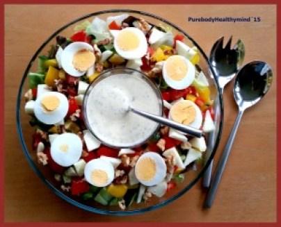salade-met-noten-en-ei