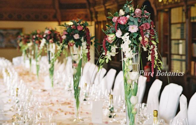 Simple Wedding Reception Table Decorations