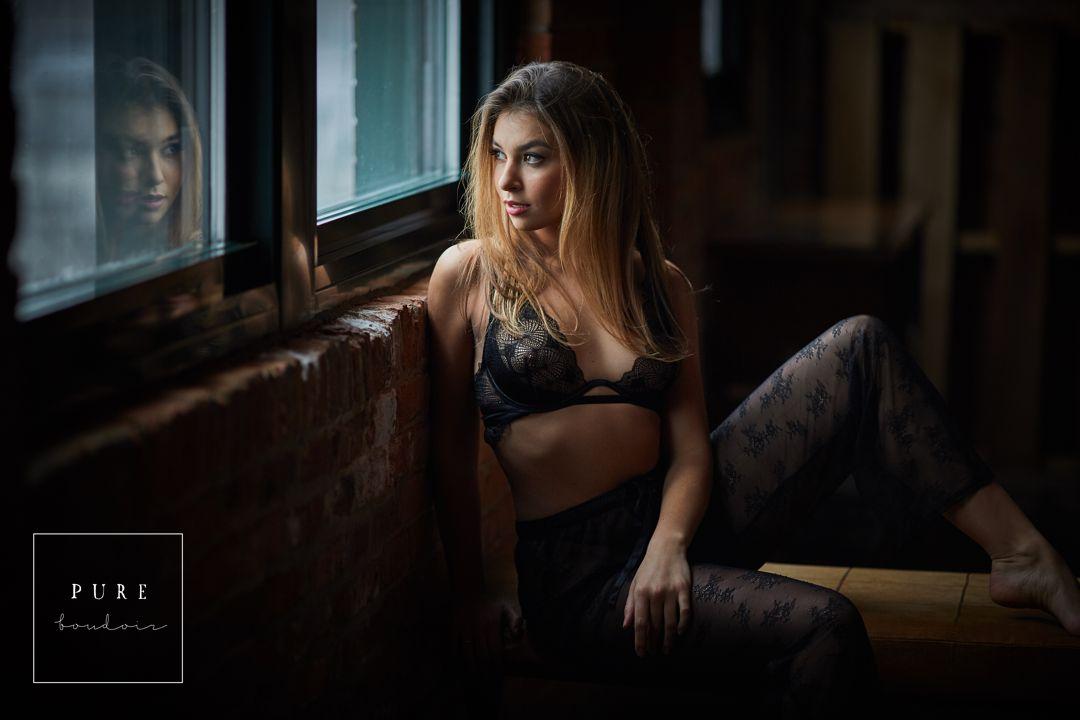 chicago sexy boudoir photography