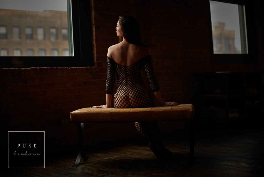 chicago boudoir sensual elegant classy - Natural Light Boudoir Photography - Chicago