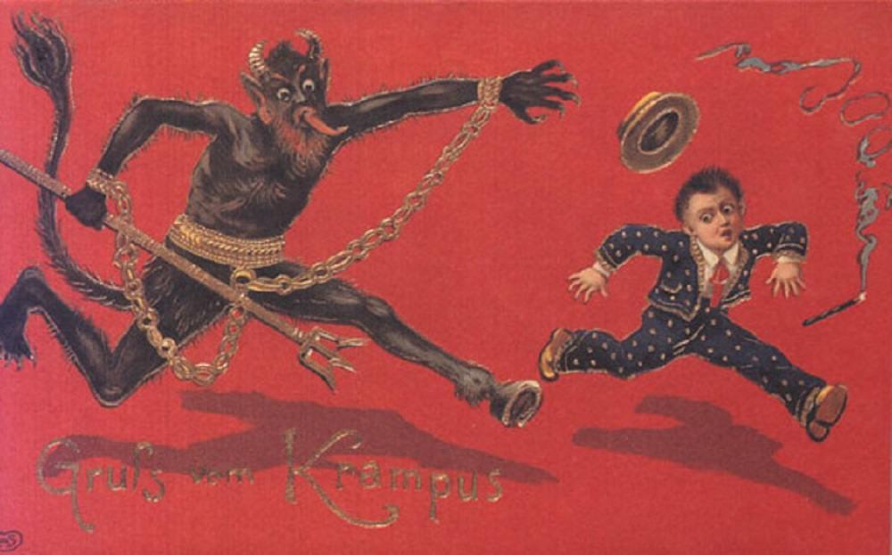 Krampusnacht And The Story Of Krampus