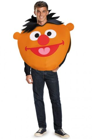 Ernie Sandwich Board Adult Costume