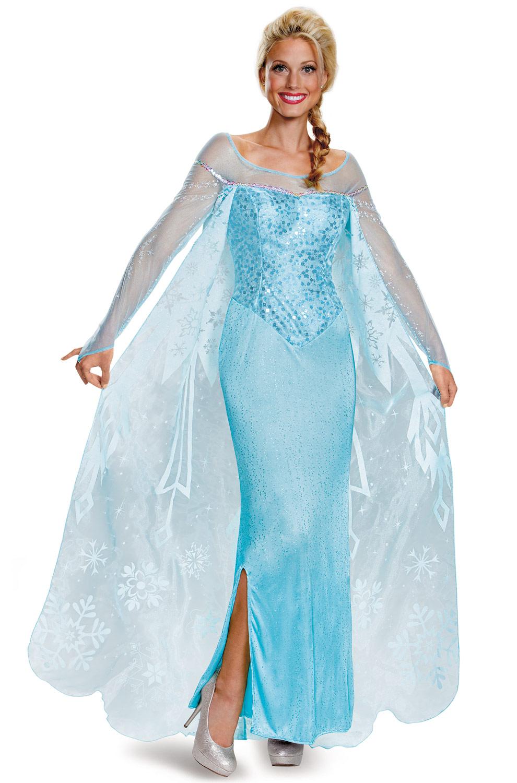 Elsa Prestige Adult Costume Purecostumes Com