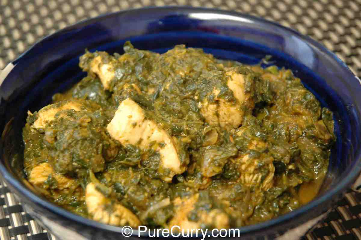 recipe: saag chicken recipe [23]