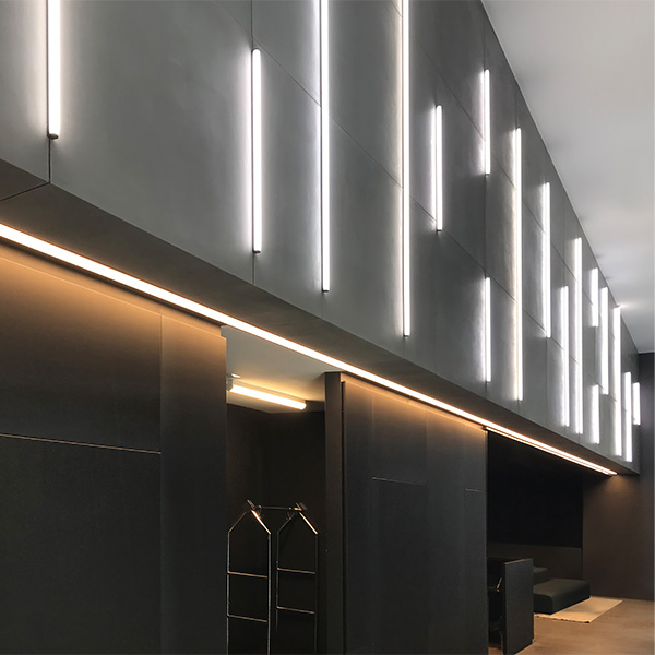 Pureedge Lighting Cirrus Ceiling T1 Tubular 1 With