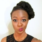 4c natural holiday updo 2
