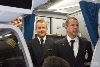 Condor Erstflug Event in Berlin - A321 Voyager Android