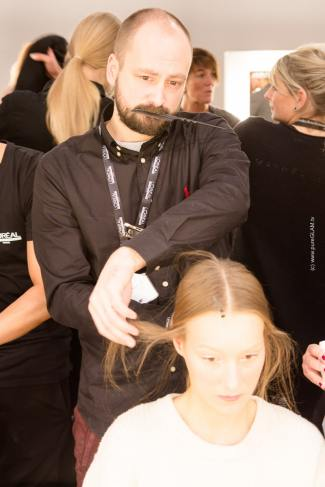 Fashionweek Berlin - minx by Eva Lutz - Backstage - Behind the Show - Autum/Winter 2016/2017 - Rebecca Mir, Franziska Knuppe, Boris Entrup, Diana zur Löwen, Dfashion, Vanessa Pur, Blogger, YouTuber