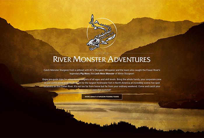 River Monster BC Sturgeon Fishing