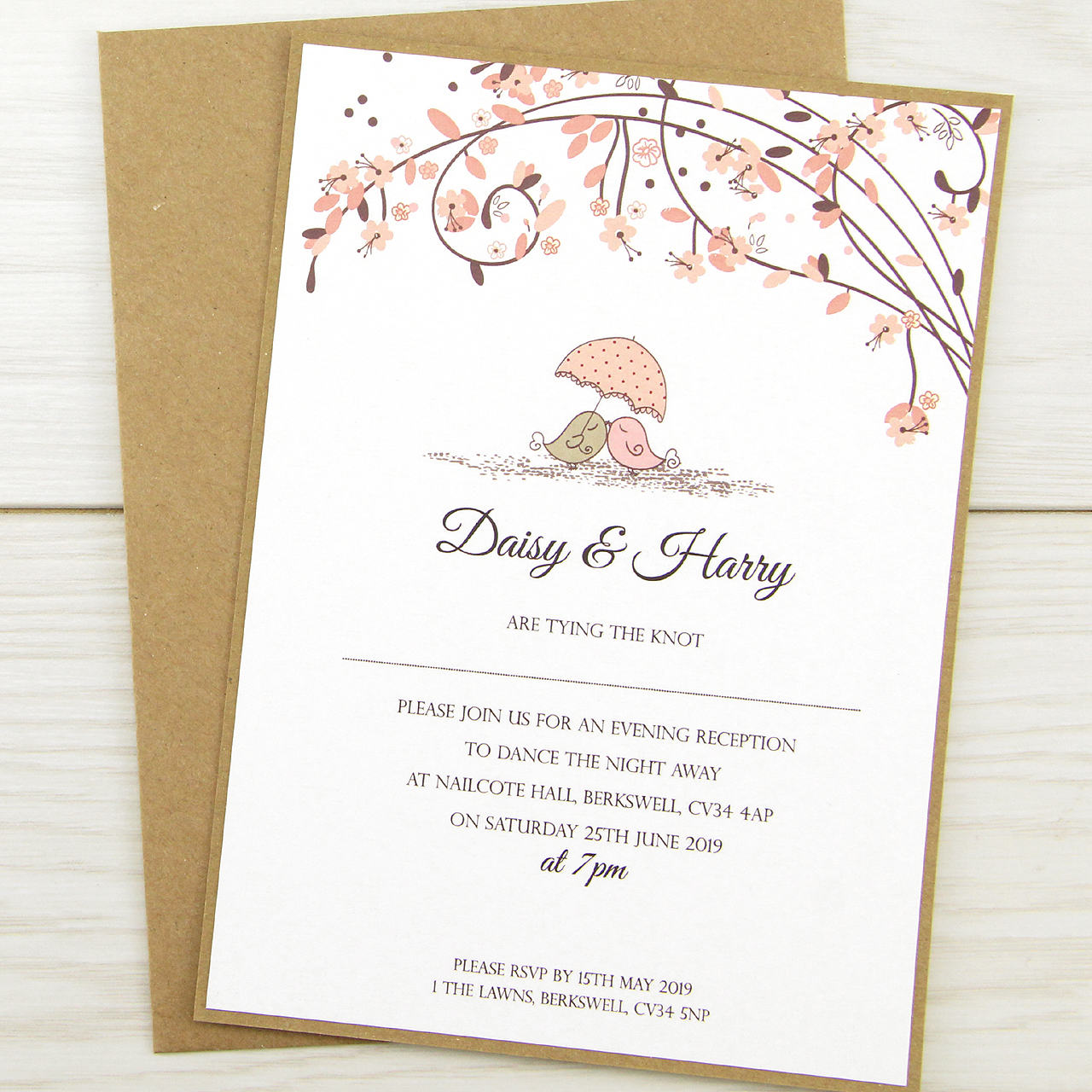 Rustic Wedding Invitations Cheap Uk