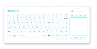 Purekeys Medical Keyboard Touchpad
