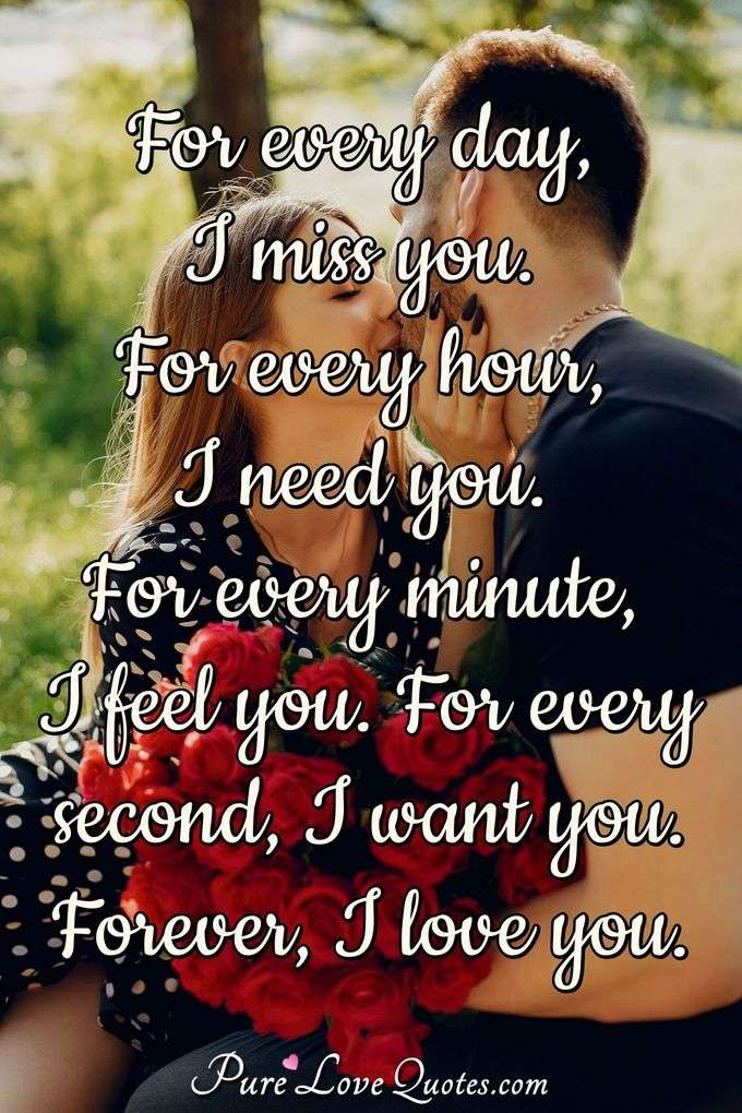 Miss You Quotes Purelovequotes