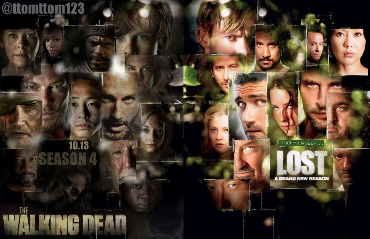 The Walking Dead and LOST