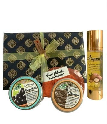 argan beautybox cadeau hamam set cadeau