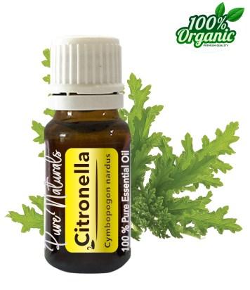 Citronella essentiële olie - organic - biologisch - pure naturals