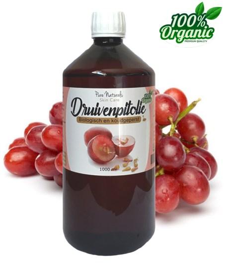 Druivenpit olie liter groothandel biologisch aromatherapie massage