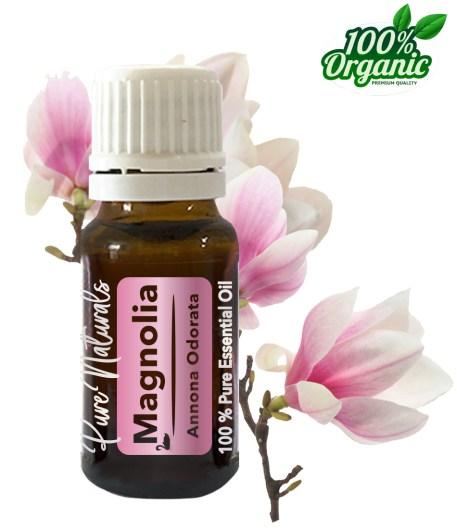 Magnolia essentiële olie - organic - biologisch - pure naturals