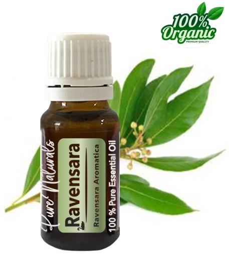 Ravensara essentiële olie - organic - biologisch - pure naturals