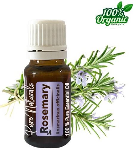Rozemarijn essentiële olie - organic - biologisch - pure naturals