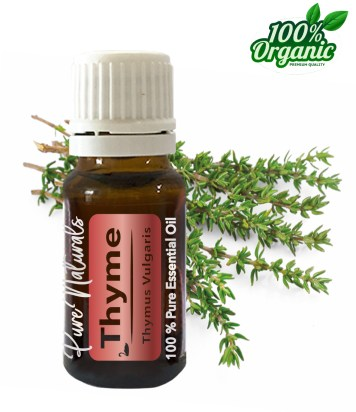 Tijm essentiële olie - organic - biologisch - pure naturals