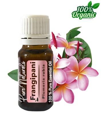Frangipani essentiële olie - organic - biologisch - pure naturals