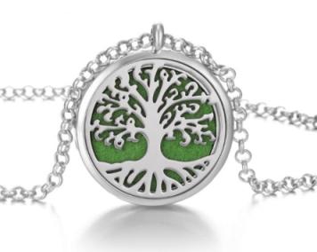 ketting aromatherapie tree of life