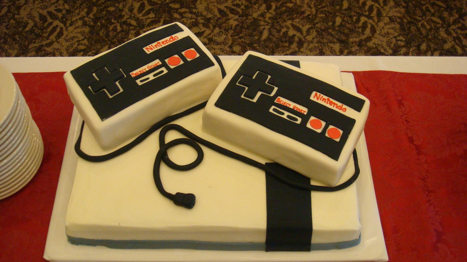 Nintendo Wedding Cake - Wedding Cake Flavors