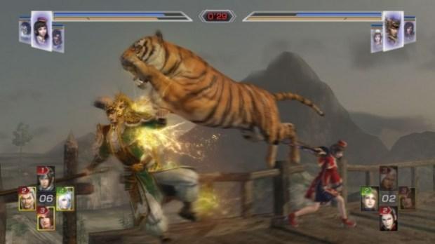 tiger v ma cho