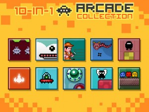 10 in 1 arcade - game select