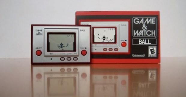 On the Ball - Yokoi's Game & Watch series were a phenomenal success