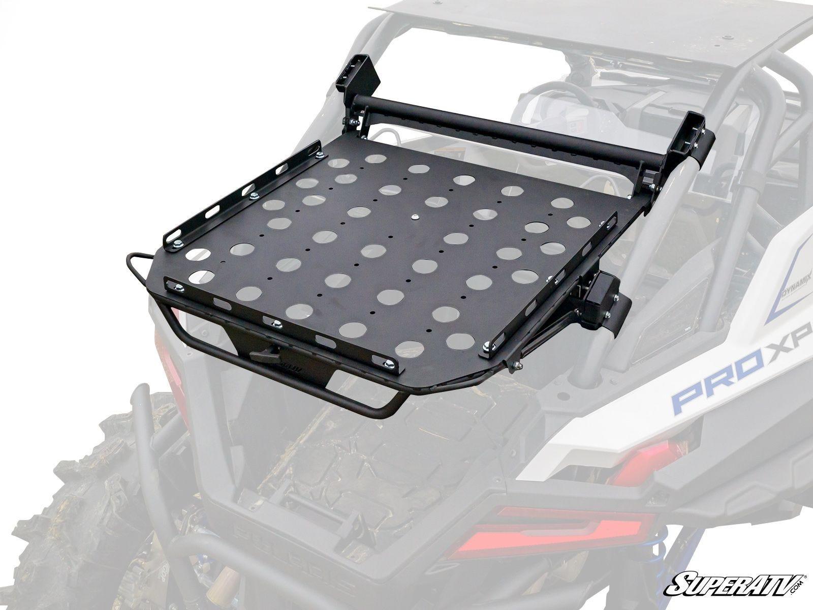 super atv cargo rack for polaris rzr pro xp