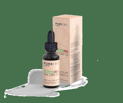 Pet CBD Oil 6 Aceite para mascotas de amplio espectro de 600 mg