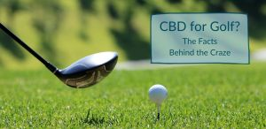 cbd for golf