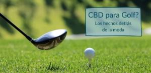 cbd para golf