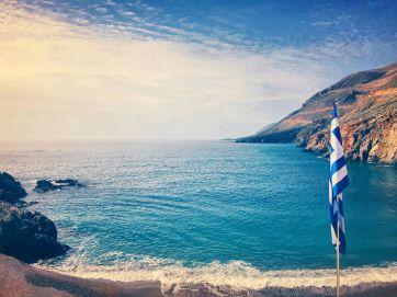 Cretan Coast and the Libyan Sea