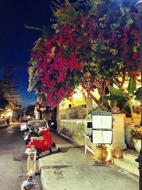 Dining in Rethymno, Crete