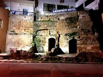 hotel amongst ruins