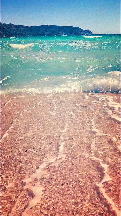 Pink Sands - Elafonisi, Greece