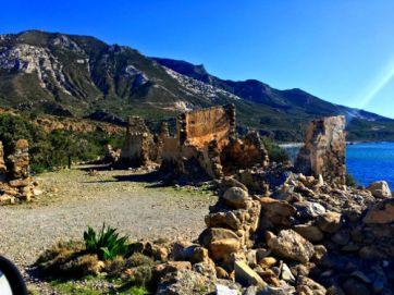 ruins in Elafonissi
